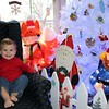Ben Price sits with some of his Christmas friends.<br /> <br /> Photographer's Name: Brian Fox<br /> Photographer's City and State: Anderson, Ind.