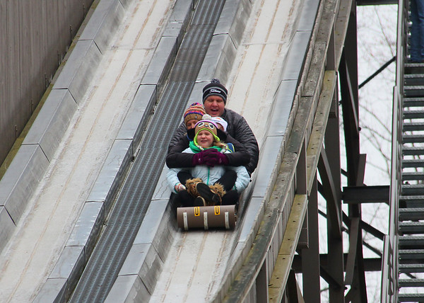 The toboggan run at Pokagon State Park brings screams, yells and lots of thrills.<br /> <br /> Photographer's Name: Jerry Byard<br /> Photographer's City and State: Anderson, Ind.