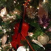 Fiddles in Christmas trees at the Civic Theatre (Tarkington) in Carmel, Ind.<br /> <br /> Photographer's Name: Janet Neese-Hoffman<br /> Photographer's City and State: Frankton, Ind.