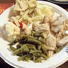My turkey dinner plate.<br /> <br /> Photographer's Name: Harry Van Noy<br /> Photographer's City and State: Anderson, Ind.