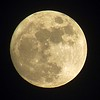 Christmas Eve moon.<br /> <br /> Photographer's Name: Amanda Gloff<br /> Photographer's City and State: Anderson, Ind.