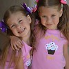 My 9 year old nieces Abby and Hanna posing, they are also very talented songwriters and musicians.<br /> <br /> Photographer's Name: Nicole Winkler<br /> Photographer's City and State: Anderson, Ind.