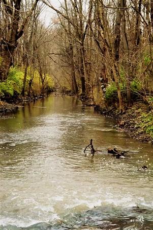 Killbuck Creek after the rain.<br /> <br /> Photographer's Name: J.R. Rosencrans<br /> Photographer's City and State: Alexandria, Ind.