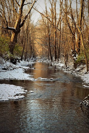 Killbuck Creek in December.<br /> <br /> Photographer's Name: J.R. Rosencrans<br /> Photographer's City and State: Alexandria, Ind.