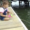 My 3-year-old niece Alisa catching her first fish.<br /> <br /> Photographer's Name: Nicole Winkler<br /> Photographer's City and State: Anderson, Ind.