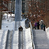 People were enjoying the toboggan run at Pokagon State Park over the weekend.<br /> <br /> Photographer's Name: Jerry Byard<br /> Photographer's City and State: Anderson, Ind.