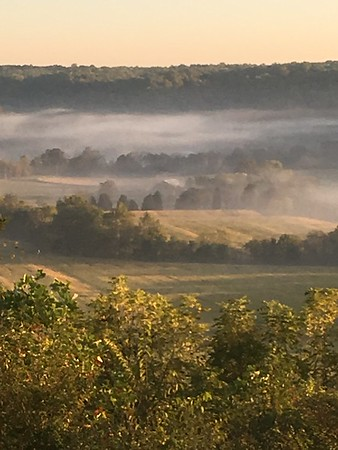 Overlooking Laughery Valley near Friendship, Indiana.<br /> <br /> Photographer's Name: Earl Wallace<br /> Photographer's City and State: Pendleton, Ind.