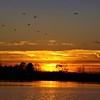 December sunrise at Prairie Creek Reservoir.<br /> <br /> Photographer's Name: J.R. Rosencrans<br /> Photographer's City and State: Alexandria, Ind.
