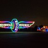 One of the Christmas light displays at the Indianapolis Motor Speedway.<br /> <br /> Photographer's Name: H. A. Pease<br /> Photographer's City and State: Anderson, Ind.