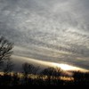 A late autumn sky scene in Madison County.<br /> <br /> Photographer's Name: Harry Van Noy<br /> Photographer's City and State: Lafayette Township, Ind.