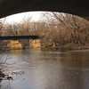 A view from under the Broadway Bridge.<br /> <br /> Photographer's Name: Harry Van Noy<br /> Photographer's City and State: Lafayette Township, Ind.