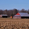 Harvest barn and tools.<br /> <br /> Photographer's Name: J.R. Rosencrans<br /> Photographer's City and State: Alexandria, Ind.