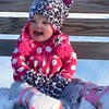 Brynlyn Everitt, age 16 months, playing in the snow for the first time.<br /> <br /> Photographer's Name: Jennifer Everitt<br /> Photographer's City and State: Anderson, Ind.