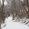 Trail 5 along White River at Mounds State Park was pretty and snow covered on Sunday afternoon.<br /> <br /> Photographer's Name: Jerry Byard<br /> Photographer's City and State: Anderson, Ind.