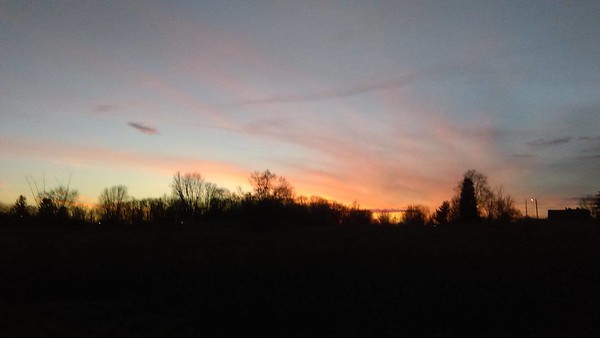 Sunsets in Anderson. <br /> <br /> Photographer's Name: Nina Grace<br /> Photographer's City and State: Anderson, Ind.