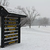 It was a snowy February 1 at Mounds State Park.<br /> <br /> Photographer's Name: Jerry Byard<br /> Photographer's City and State: Anderson, Ind.