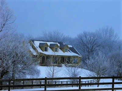Winter in the country.<br /> <br /> Photographer's Name: J.R. Rosencrans<br /> Photographer's City and State: Alexandria, Ind.