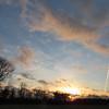 An Feb. 1 evening sky over Anderson.<br /> <br /> Photographer's Name: Harry Van Noy<br /> Photographer's City and State: Lafayette Township, Ind.