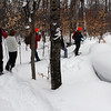 I snowshoe hiked with this group last week in about 30 inches of snow in Upper Michigan.<br /> <br /> Photographer's Name: Jerry Byard<br /> Photographer's City and State: Anderson, Ind.