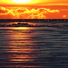 A icy sunrise at Mackinaw City.<br /> <br /> Photographer's Name: Jerry Byard<br /> Photographer's City and State: Anderson, Ind.