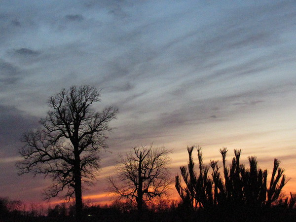 A Valentine's Day sky seen above Madison County.<br /> <br /> Photographer's Name: Harry Van Noy<br /> Photographer's City and State: Lafayette Township, Ind.