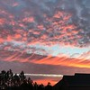 A breathtaking morning sky in Anderson.<br /> <br /> Photographer's Name: Mary Jackson<br /> Photographer's City and State: Anderson, Ind.