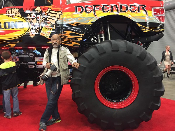 Photo of Ray Grimball at last week's Auto World Car & Truck Show in Indianapolis. <br /> <br /> Photographer's Name:  <br /> Photographers City and Country: ,