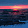 Sunrise over Whitefish Bay in Upper Michigan.<br /> <br /> Photographer's Name: Jerry Byard<br /> Photographer's City and State: Anderson, Ind.