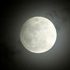 Hazy full snow moon in far North Anderson.<br /> <br /> Photographer's Name: Micah Mitchell<br /> Photographer's City and State: Anderson, Ind.