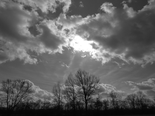 The Sunday sky, over Anderson.<br /> <br /> Photographer's Name: Harry Van Noy<br /> Photographer's City and State: Lafayette Township, Ind.