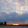 Late January sunset II.<br /> <br /> Photographer's Name: Harry Van Noy<br /> Photographer's City and State: Lafayette Township, Ind.