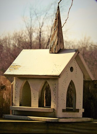 Chapel in the moonlight.<br /> <br /> Photographer's Name: J.R. Rosencrans<br /> Photographer's City and State: Alexandria, Ind.