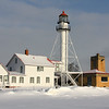 The Lighthouse and buildings at Whitefish Point, Michigan.<br /> <br /> Photographer's Name: Jerry Byard<br /> Photographer's City and State: Anderson, Ind.