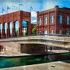 Picture of Indianapolis Canal and NCAA building taken by Barbara Grimball of Anderson. <br /> <br /> Photographer's Name: Barbara Grimball<br /> Photographer's City and State: Anderson, Ind.