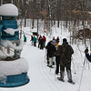 An afternoon snowshoe hike at Tahquamenon Falls State Park.<br /> <br /> Photographer's Name: Jerry Byard<br /> Photographer's City and State: Anderson, Ind.