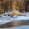 Frozen Killbuck Creek in Richland Township.<br /> <br /> Photographer's Name: J.R. Rosencrans<br /> Photographer's City and State: Alexandria, Ind.