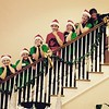 United Faith Housing kitchen staff looking their best at the Christmas Party for the residents.<br /> <br /> Photographer's Name: Myra Vance<br /> Photographer's City and State: Anderson, Ind.
