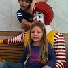 My granddaughter Lilly McIntyre with her friend Spencer Hider in the old McDonald's play land. <br /> <br /> Photographer's Name: Tina Snyder<br /> Photographer's City and State: Anderson, Ind.