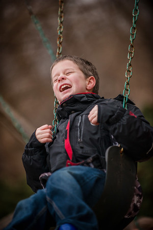 My grandson Tristan Fox swinging last week in the warmer weather.<br /> <br /> Photographer's Name: Terry Lynn Ayers<br /> Photographer's City and State: Anderson, Ind.