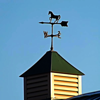 Weather vane art: My barn in Richland Township.<br /> <br /> Photographer's Name: J.R. Rosencrans<br /> Photographer's City and State: Alexandria, Ind.