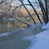 White River at Mounds State Park was icing over this week as temperatures dropped.<br /> <br /> Photographer's Name: Jerry Byard<br /> Photographer's City and State: Anderson, Ind.