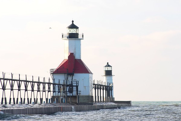 St Joe Lighthouse, St Joe, Michigan.<br /> <br /> Photographer's Name: Brian  Fox<br /> Photographer's City and State: Anderson, Ind.