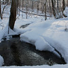 One of the streams in the woods at Mounds State Park offered a serene setting after our snow.<br /> <br /> Photographer's Name: Jerry Byard<br /> Photographer's City and State: Anderson, Ind.