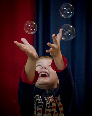 Bubble fun for Sammie Shefield my nephew.<br /> <br /> Photographer's Name: Terry Lynn  Ayers<br /> Photographer's City and State: Anderson, Ind.