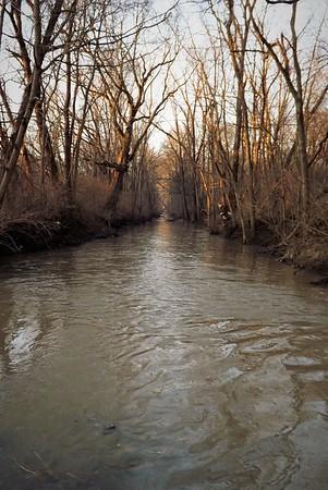Killbuck Creek at dawn.<br /> <br /> Photographer's Name: J.R. Rosencrans<br /> Photographer's City and State: Alexandria, Ind.