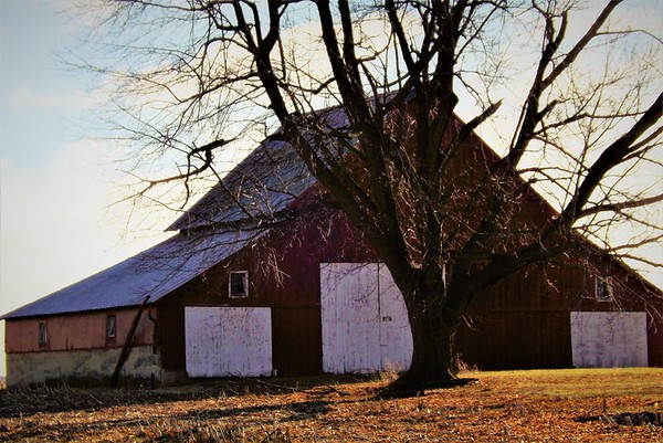 Madison County barn...Moonsville area.<br /> <br /> Photographer's Name: J.R. Rosencrans<br /> Photographer's City and State: Alexandria, Ind.