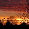 Cold December, Friday night sunset.<br /> <br /> Photographer's Name: Harry Van Noy<br /> Photographer's City and State: Lafayette Township, Ind.
