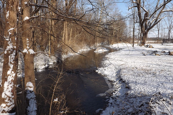 Killbuck Creek in January.<br /> <br /> Photographer's Name: J.R. Rosencrans<br /> Photographer's City and State: Alexandria, Ind.