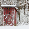 The privy at Mounds Park after a pretty sticking snow storm.<br /> <br /> Photographer's Name: Jerry Byard<br /> Photographer's City and State: Anderson, Ind.