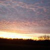 Beautiful cold winter sunset in Madison County.<br /> <br /> Photographer's Name: Nicole Winkler<br /> Photographer's City and State: Anderson, Ind.